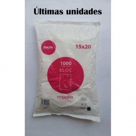BOLSA CAMISETA 35X50 cm 13.75 micras. 200 UNID.
